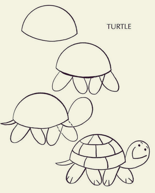 How to draw Cute Animals (10)