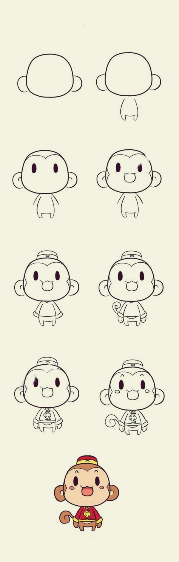 How to draw Cute Animals (2)