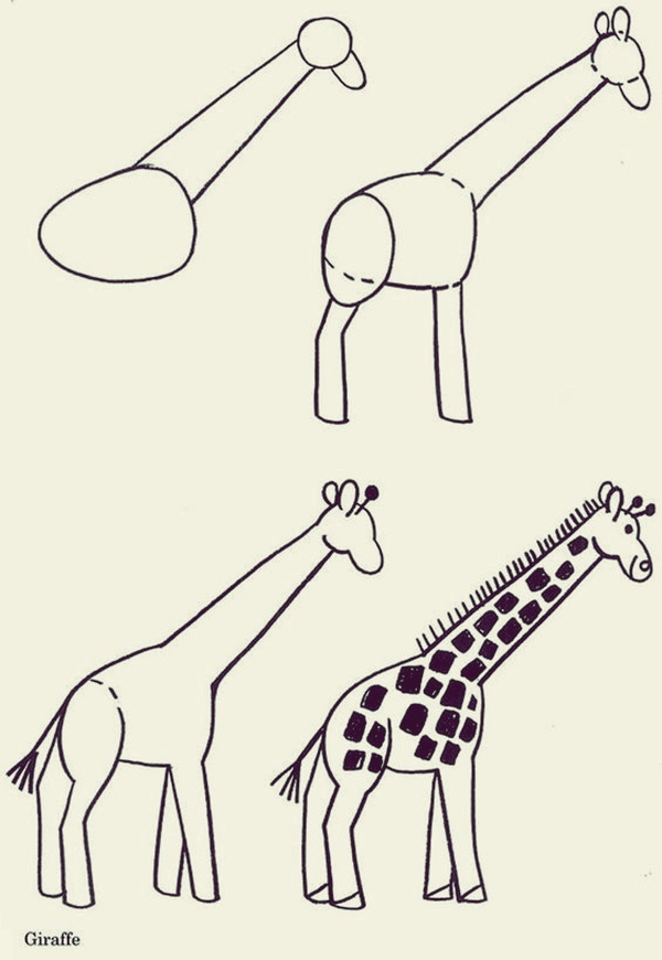 How to draw Cute Animals (44)