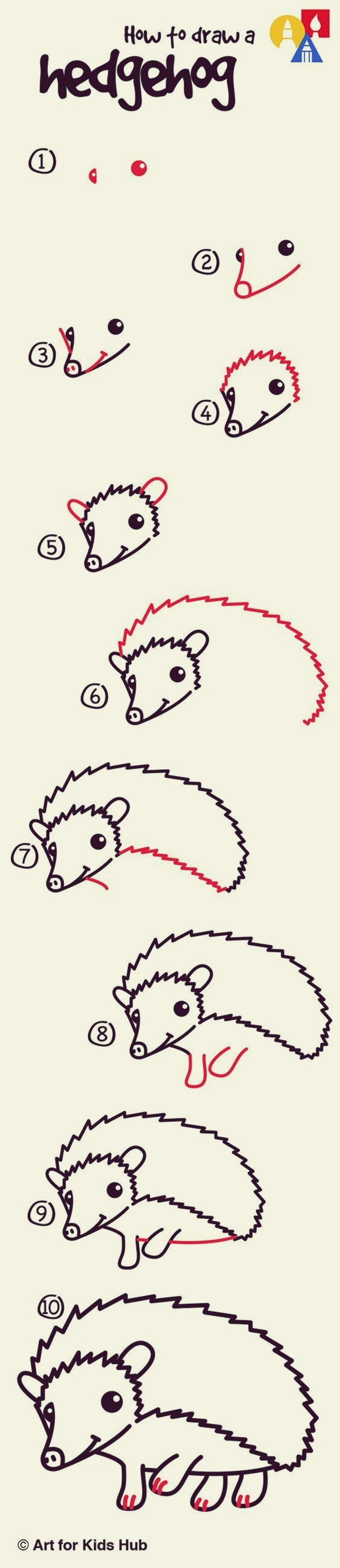 How to draw Cute Animals (5)