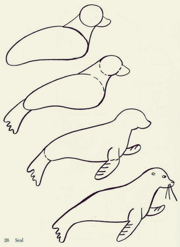 How to draw Cute Animals (9)
