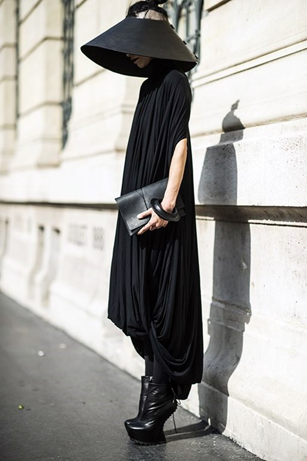 All Black Outfits Ideas for Teens (15)