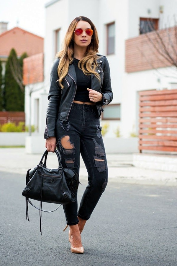 All Black Outfits Ideas for Teens (16)