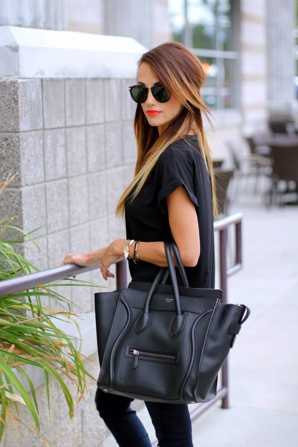All Black Outfits Ideas for Teens (21)