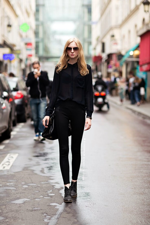 All Black Outfits Ideas for Teens (28)