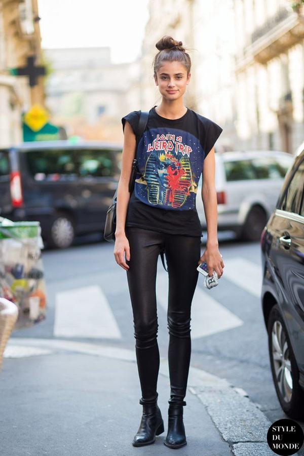 All Black Outfits Ideas for Teens (39)