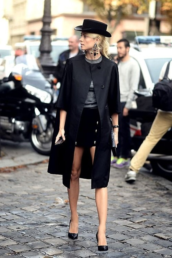 All Black Outfits Ideas for Teens (44)