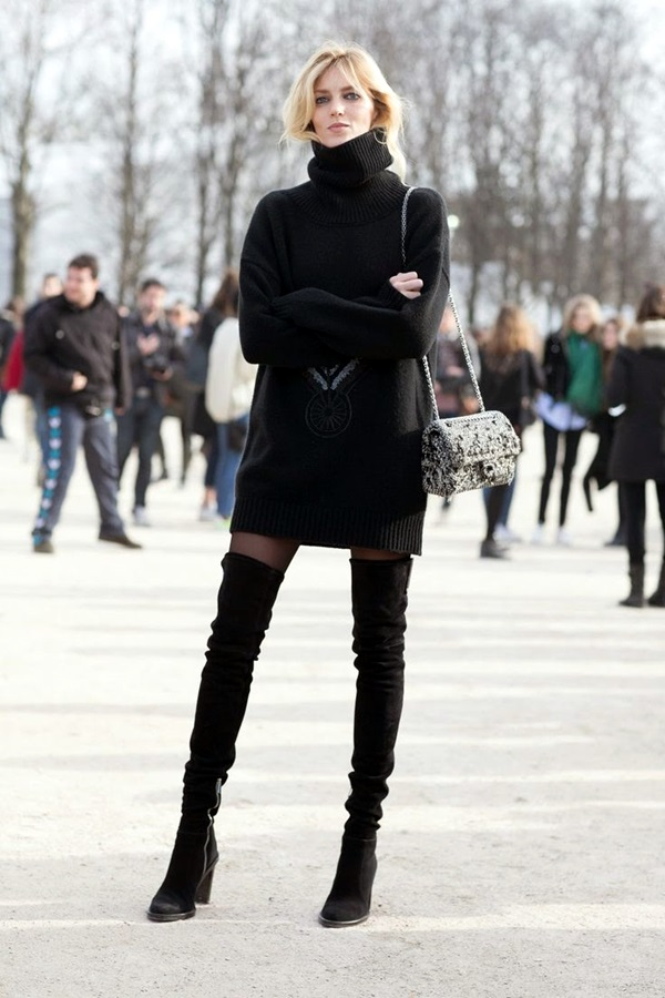 All Black Outfits Ideas for Teens (8)