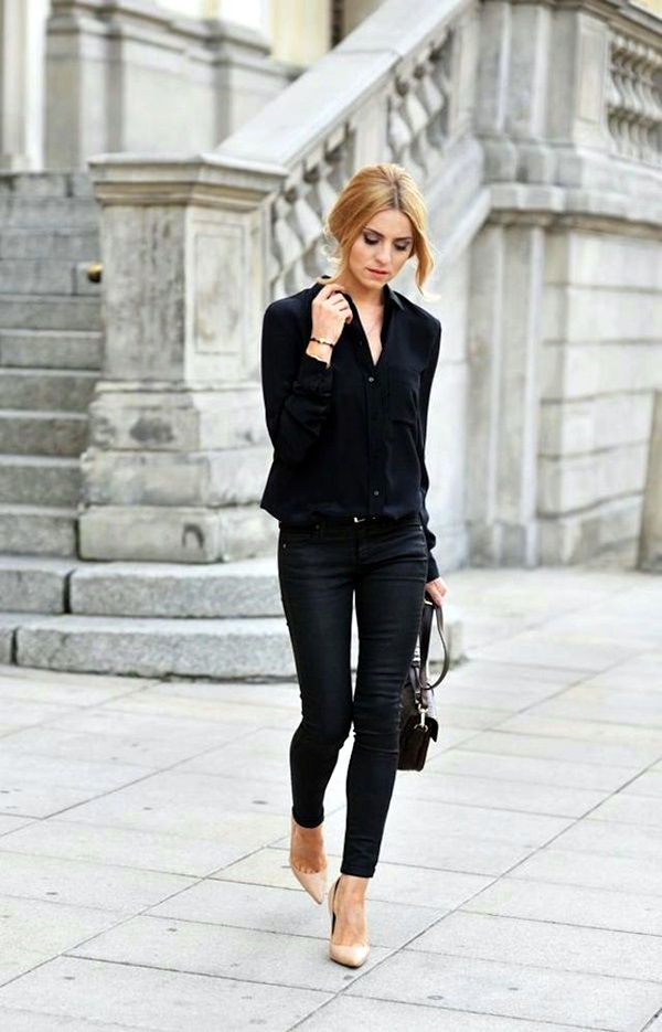 All Black Outfits Ideas for Teens (9)