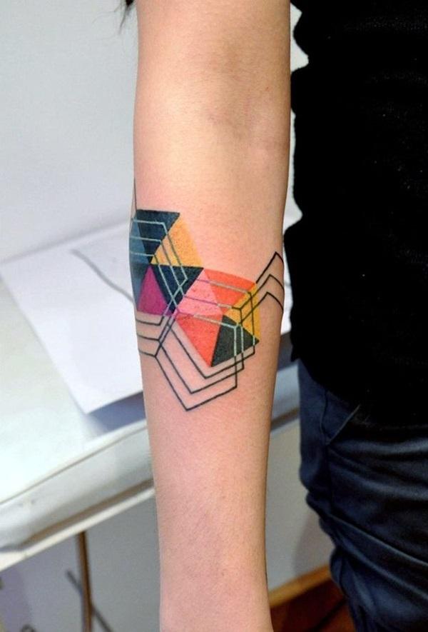 Geometric Tattoos Designs and Ideas (12)