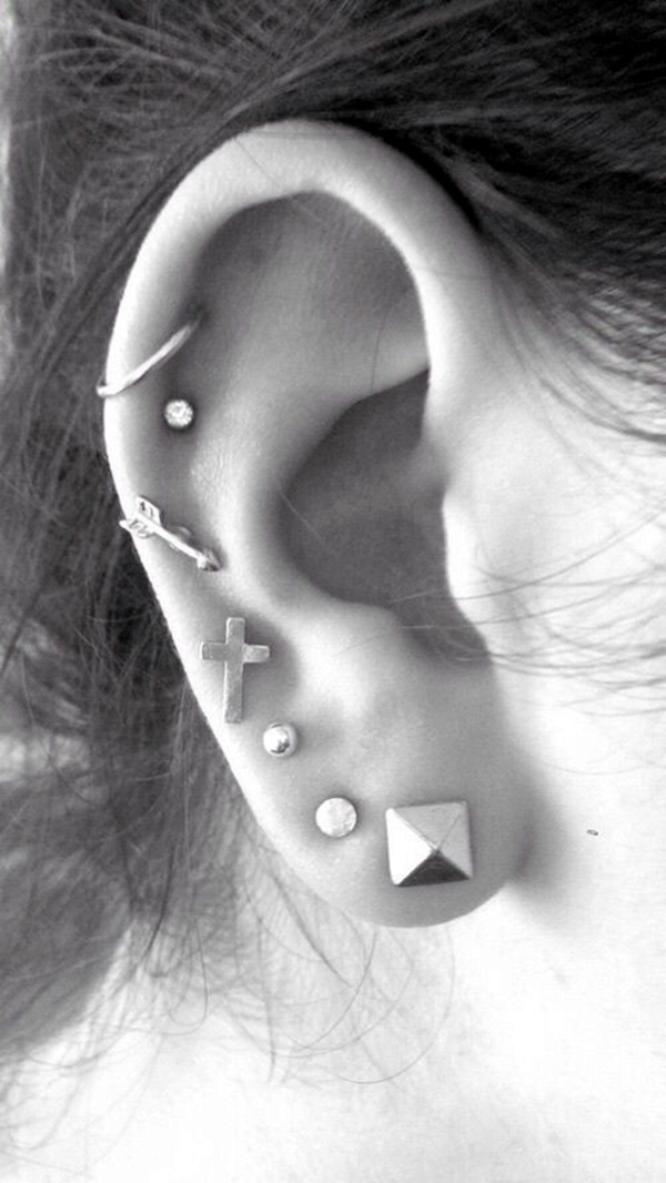 Insanely Gorgeous Examples of Cute Ear Piercing (5)
