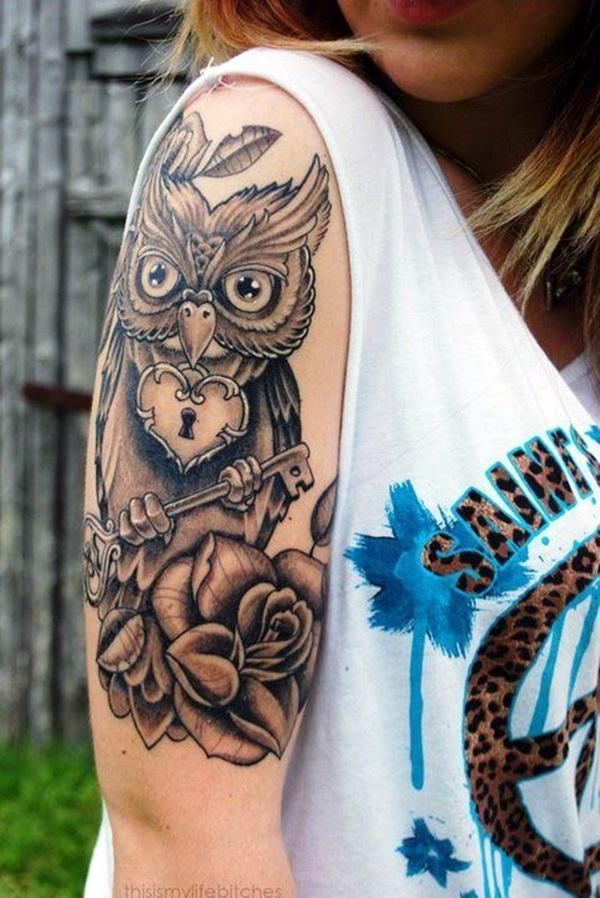 Key Tattoos for Girls (1)