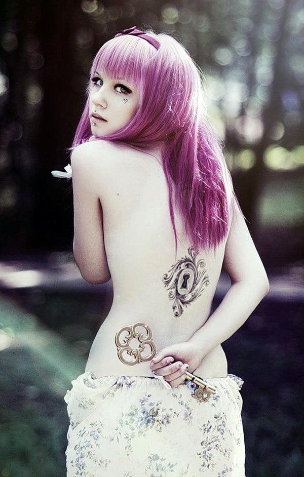 Key Tattoos for Girls (15)