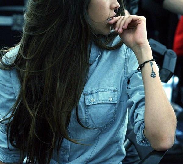 Key Tattoos for Girls (2)