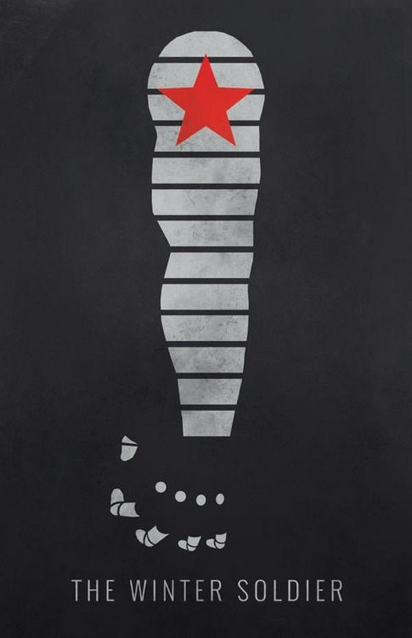 Examples of Superhero Minimalist Posters (11)