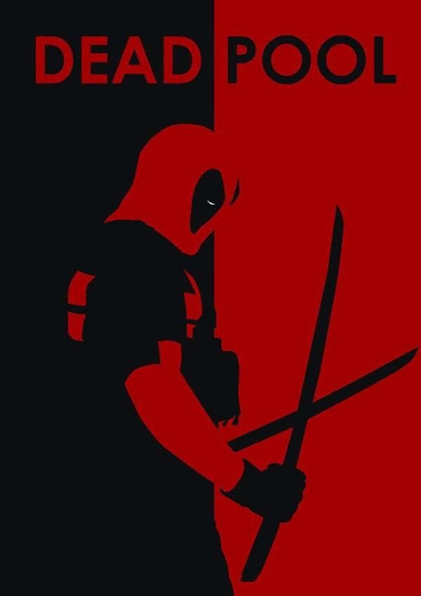 Examples of Superhero Minimalist Posters (14)