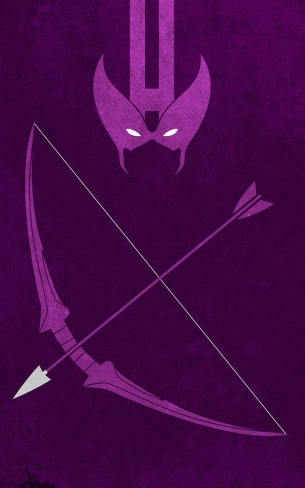 Examples of Superhero Minimalist Posters (29)