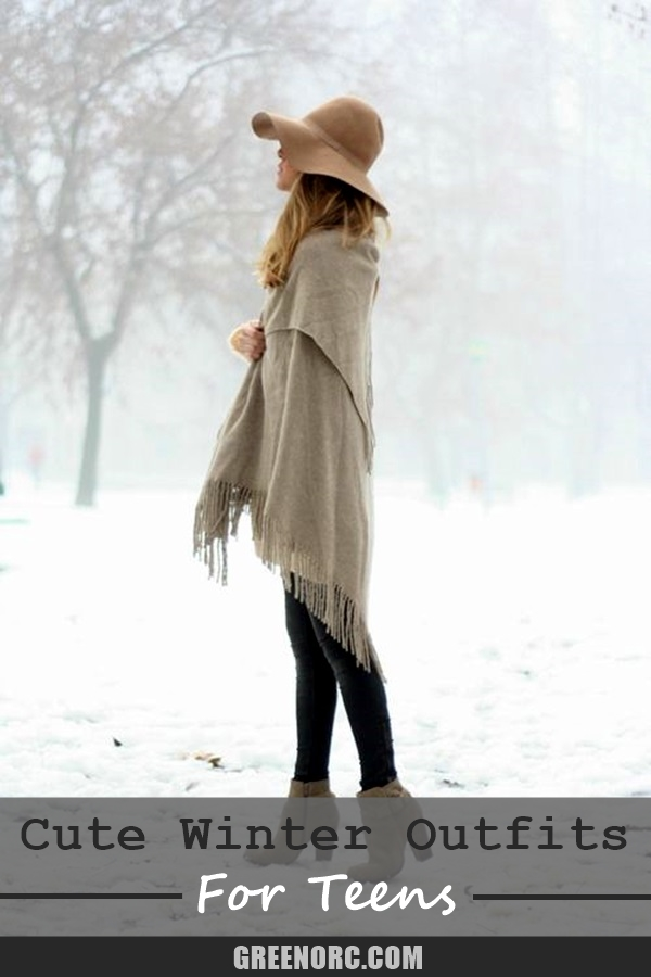 Winter Outfits for Teens (12)