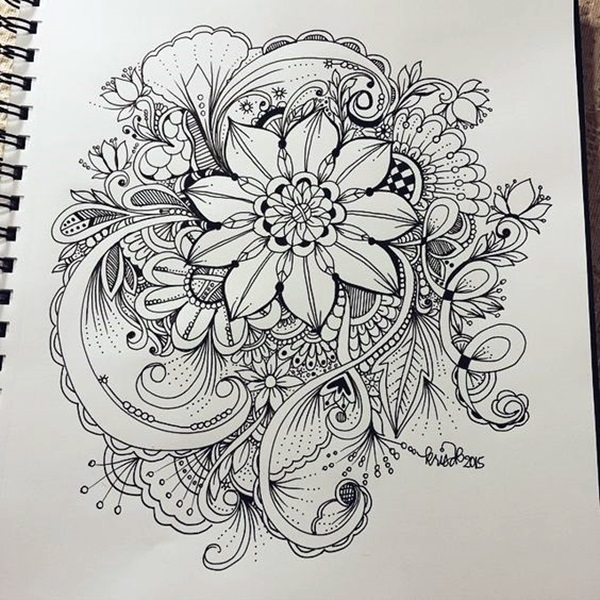 Doodle Art Tutorials (16)