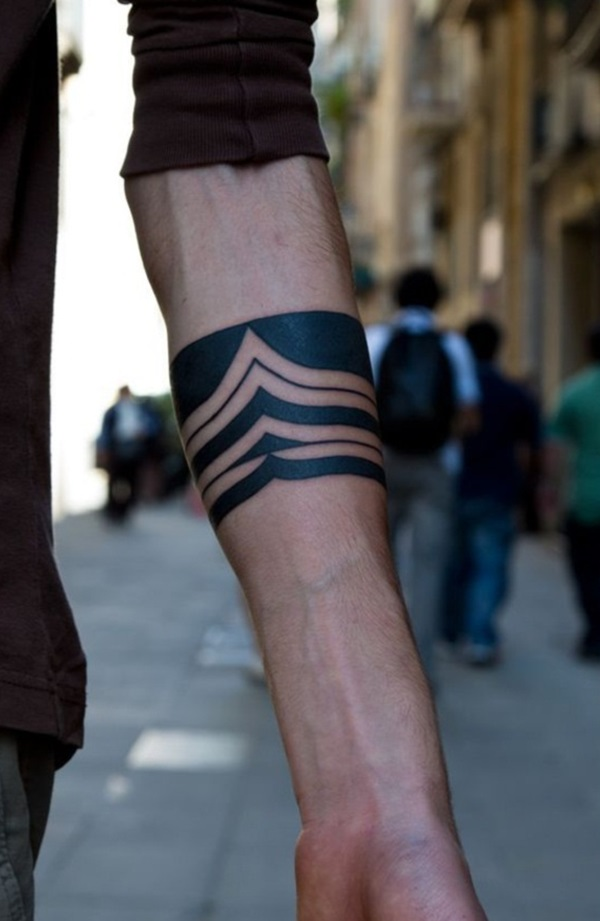 Masculine Armband Tattoo Designs for Men (4)