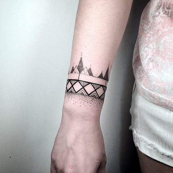 Masculine Armband Tattoo Designs for Men (7)