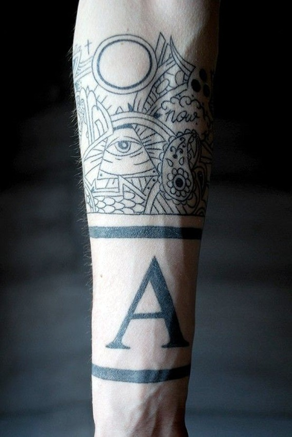 Masculine Armband Tattoo Designs for Men (8)