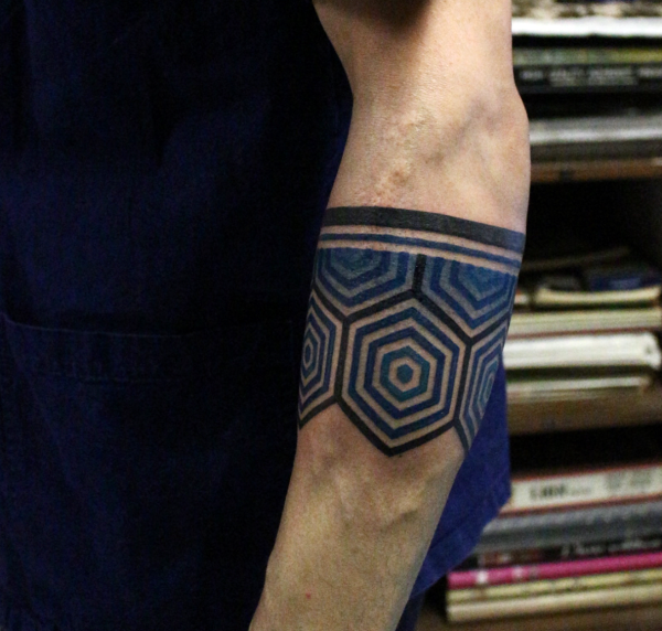 Masculine Armband Tattoo Designs for Men
