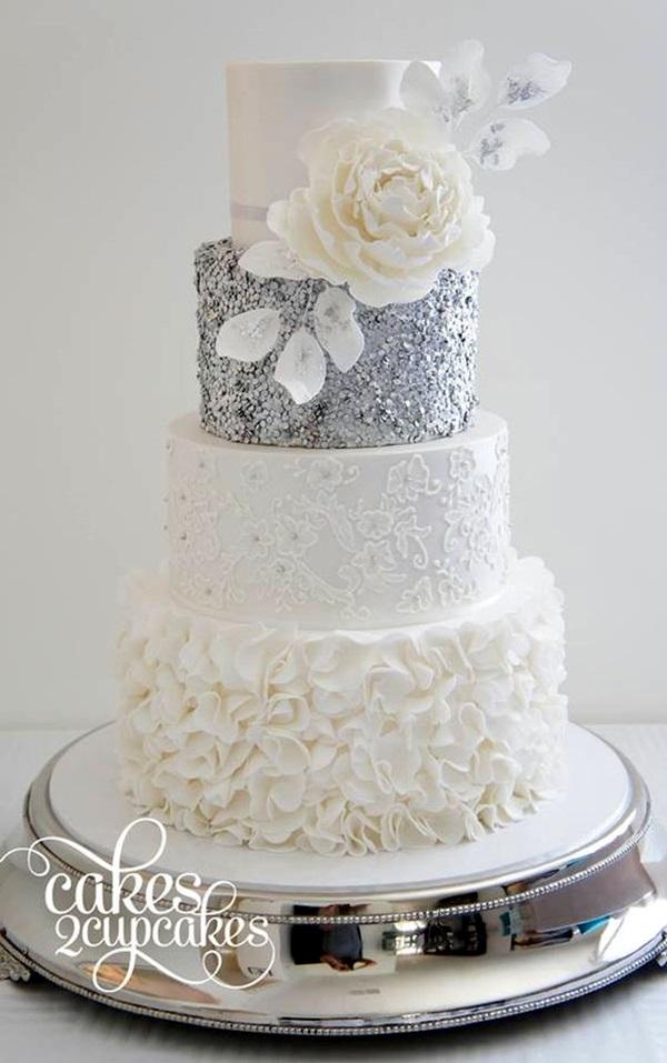 Wedding Anniversary Cake Ideas (22)