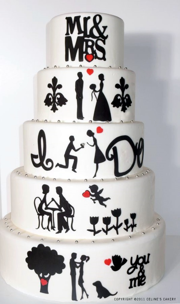 Wedding Anniversary Cake Ideas (6)