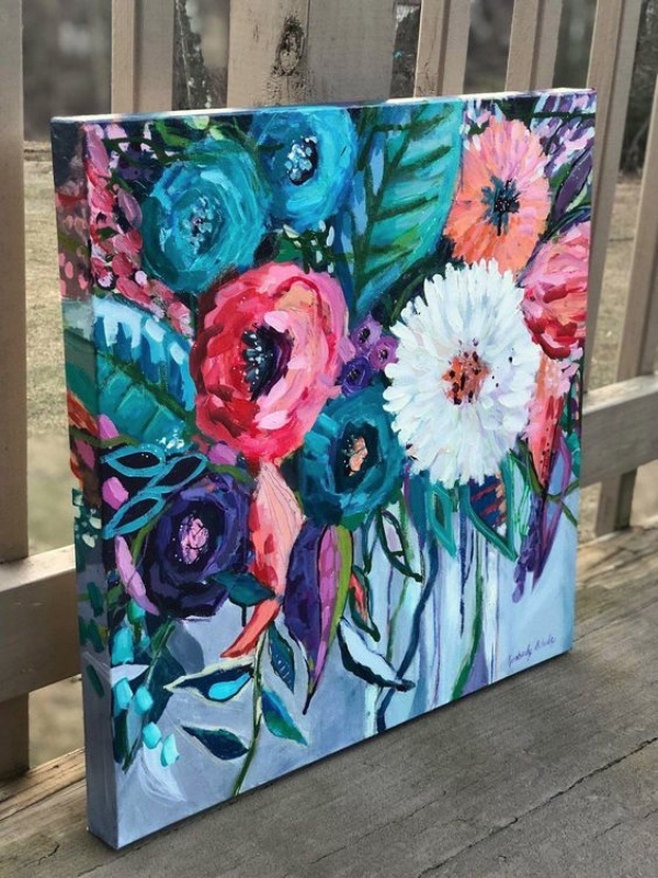 Beautiful Examples Of Acrylic Painting