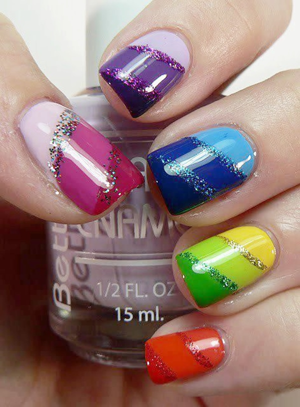 Splashy-Rainbow-Nail-Art-Ideas-to-Try-This-Year