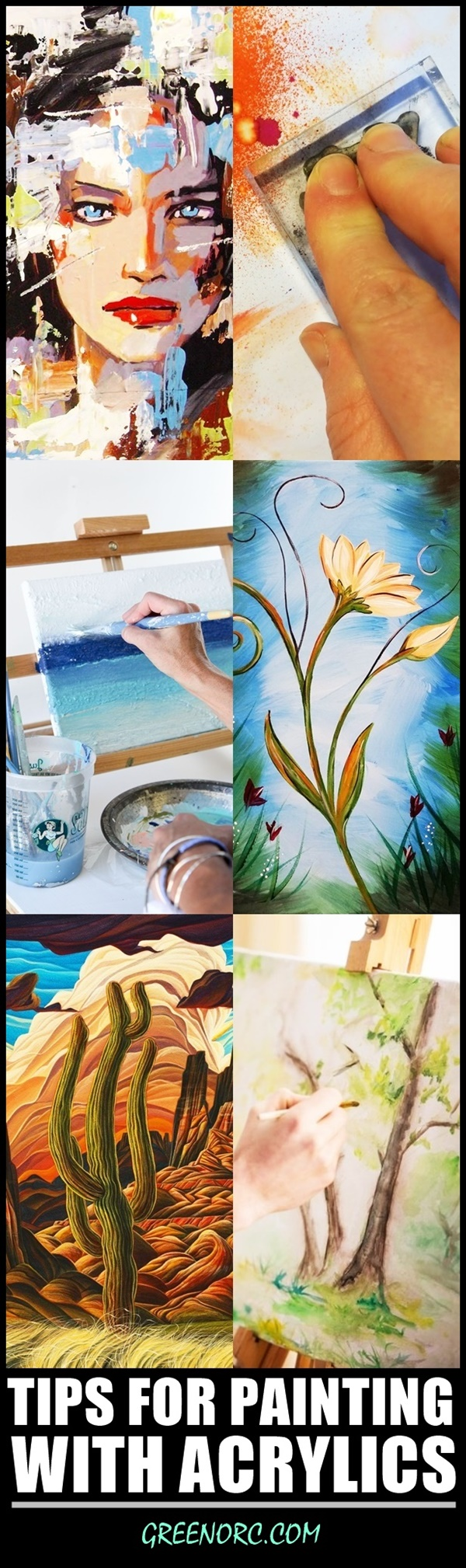 Tips-For-Painting-With-Acrylics