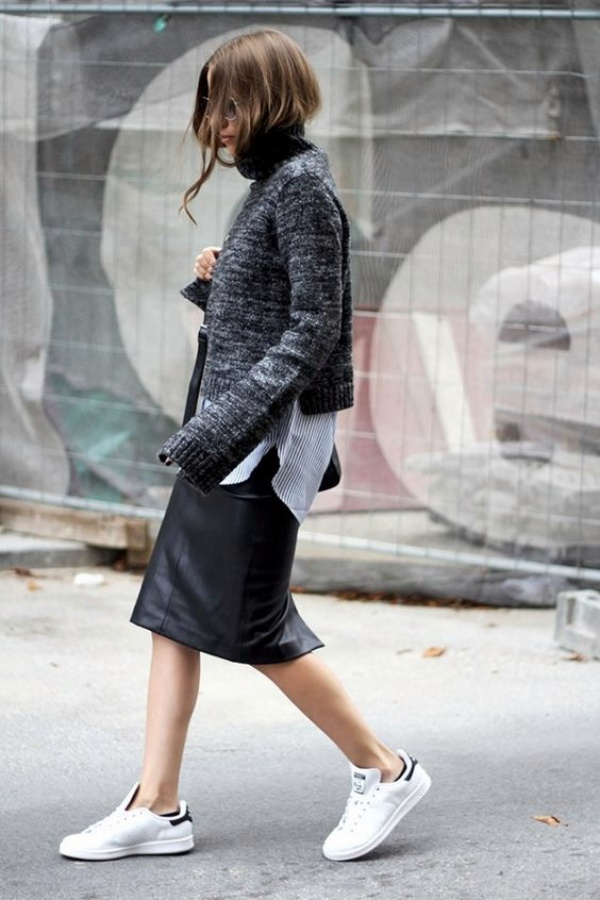 Ways to Wear Sneakers with Work Outfits