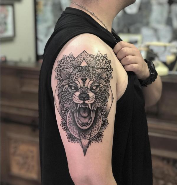Geometric Animal Tattoo Ideas