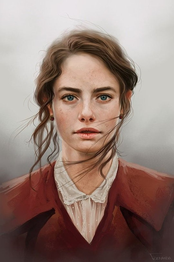 Soulful Portrait Painting Ideas