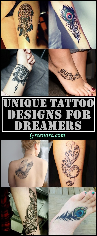Unique Tattoo Designs For Dreamers