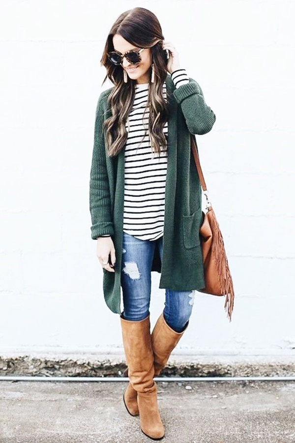 Beautiful Cardigan Outfits You Must Try