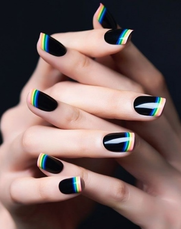 Casual Nail Art Designs For Working Women