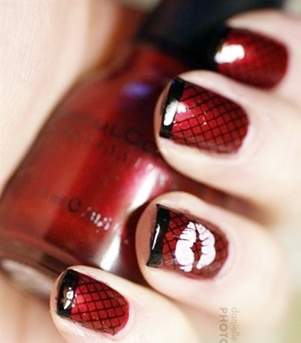 Hot Red Nail Designs That Are Trending