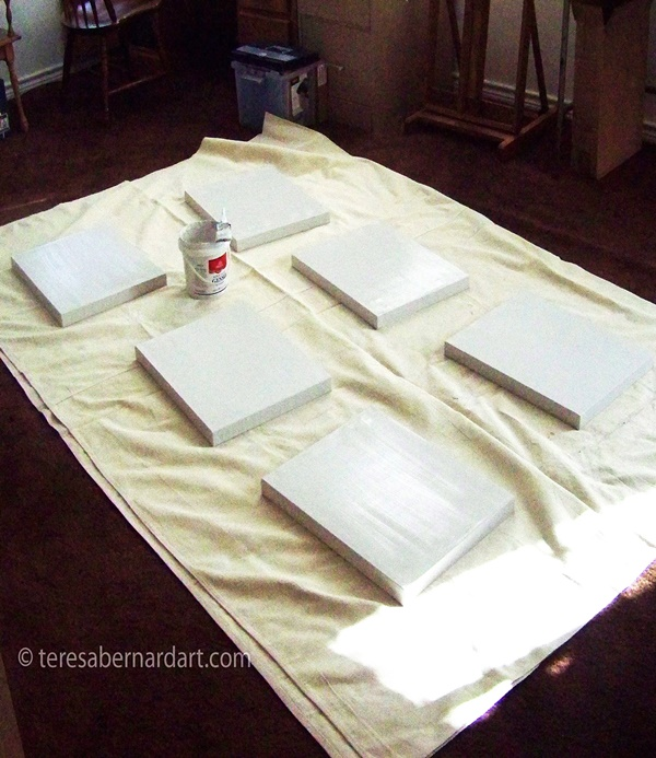 How to Prepare a Canvas for Painting Step-by-Step