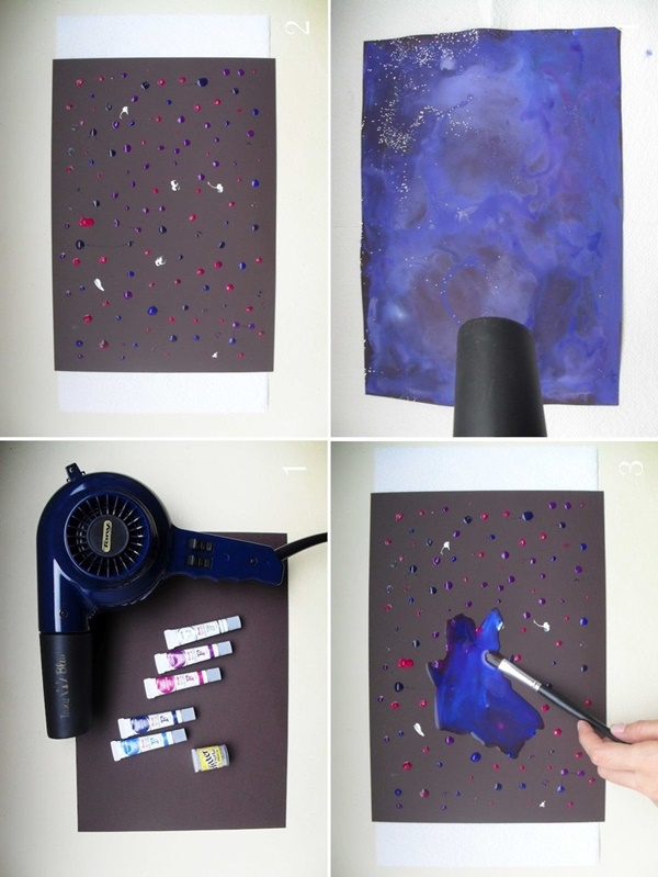 Tips to Paint Galaxies with Examples