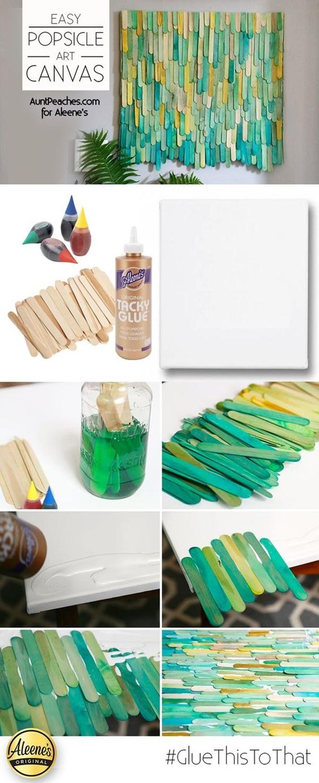 Visionary Diy Paint Stick Craft Ideas