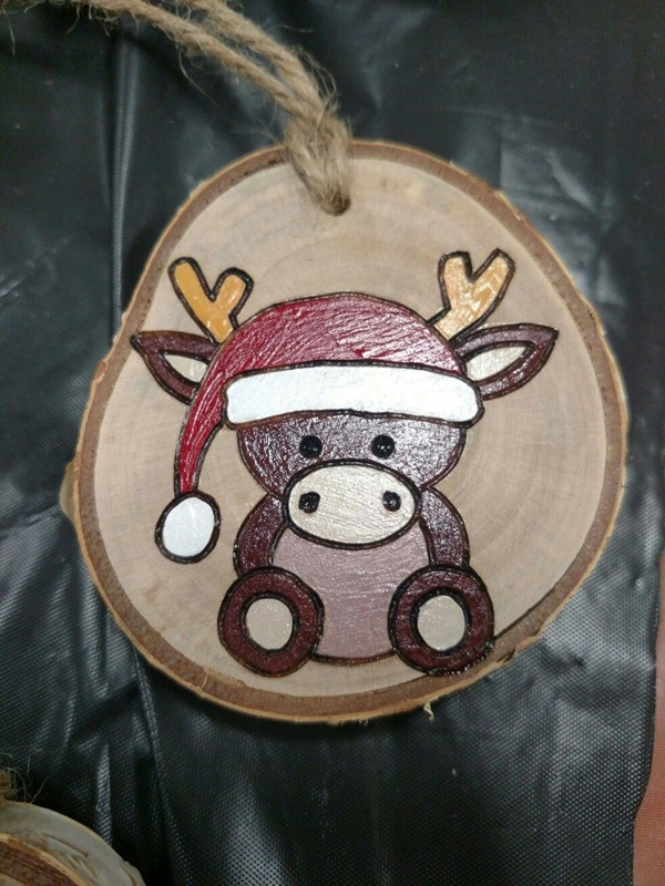 Amazing Wood Slice Painting Ideas For Beginners