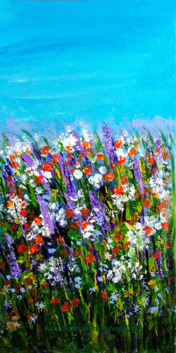 Simple and Easy Acrylic Landscape Painting Ideas