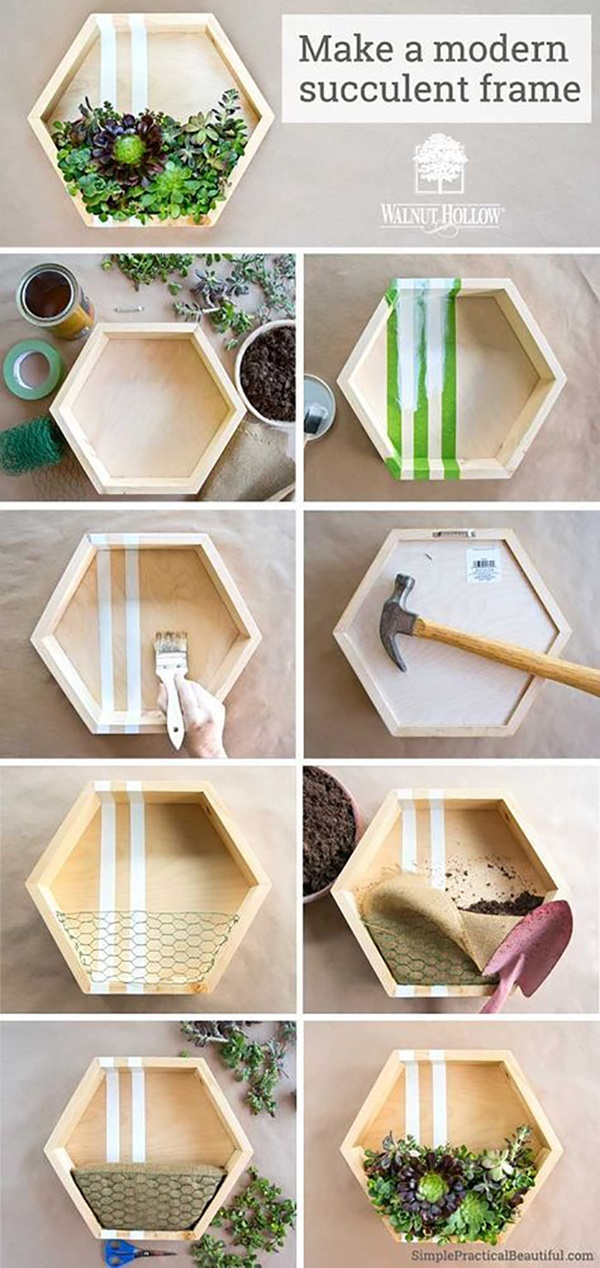 Cute DIY Ideas That Will Make Your Home Charming