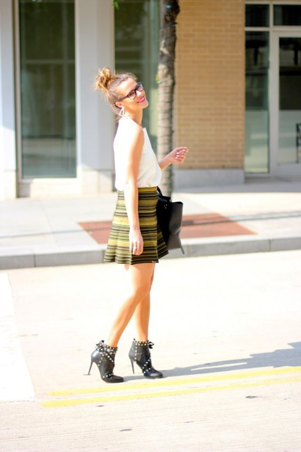 Nerdy-Chic Work Outfit Ideas
