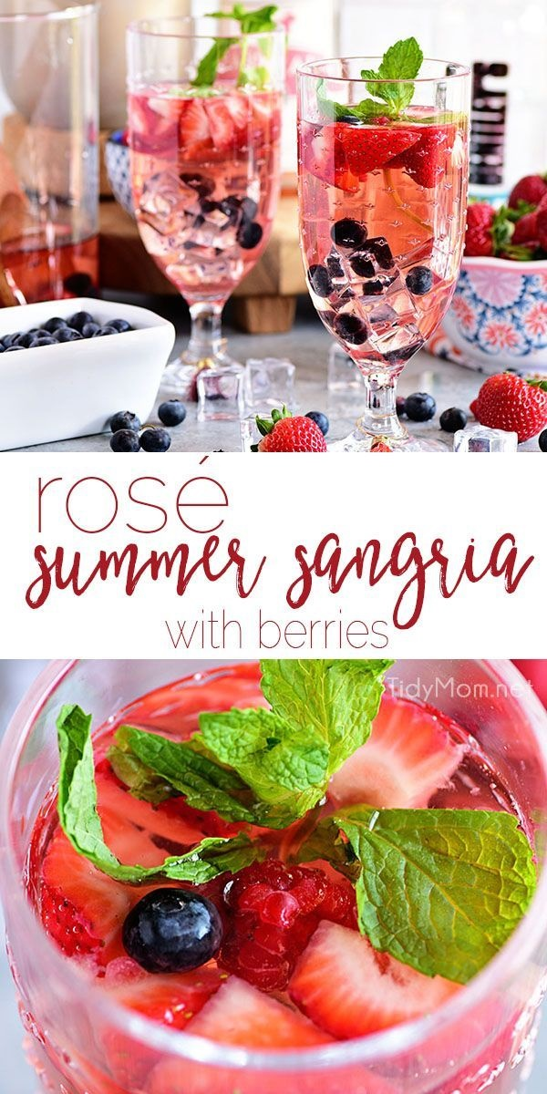 Rosé Wine Recipes To Try This Summer