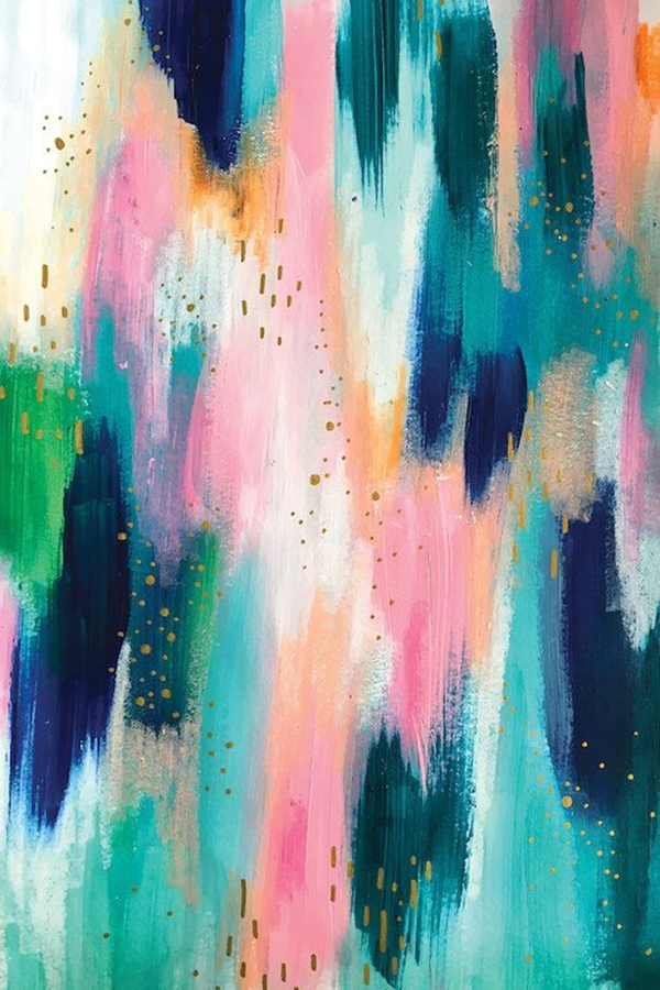 Easy Acrylic Abstract Painting Ideas