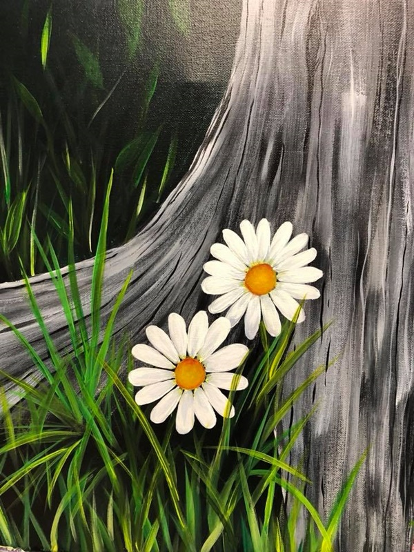 Easy Examples of Acrylic Painting For Beginners
