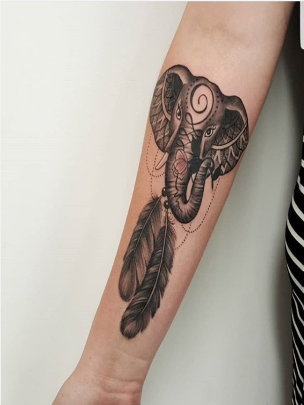 Meaningful Dream Catcher Tattoos For Girls